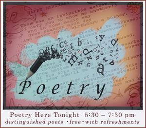 Poetry Tonight Sign