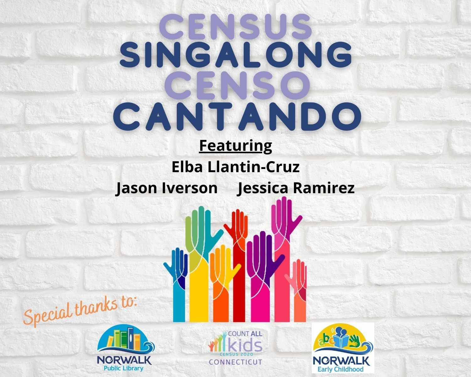 Census Singalong for Families Website